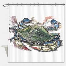 Crab Shower Curtain crab shower curtains crab fabric shower curtain liner