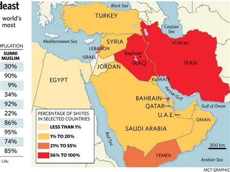 Shia Dominated Countries
