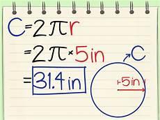 umfang kreis berechnen formel 2 formulas to calculate the circumference of a circle