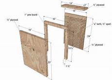 plans for building a bat house beginner ideas two chamber bat house plans