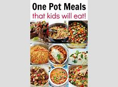 Kid Friendly One Pot Meals   Coffee Cups and Crayons