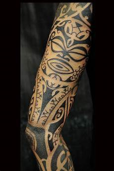 Tribal Arm Tattoos By Dave Rodriguez Oakland Ca
