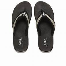 polo ralph s almer ii ne flip flops in black