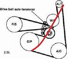 2013 nissan altima 2 5 s serpentine belt diagram nissan altima questions can i by a shorter belt to