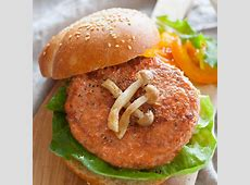 deluxe salmon burger_image