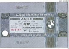 bayerische motoren werke aktien muster dm 50 1986 deko