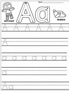 kindergarten handwriting practice alphabet by s wonderland