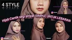 Jilbabsegiempatmenutupdada Jilbab Cantik Segi Empat