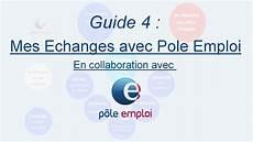 Guide 4 Mes Echanges Avec Pole Emploi