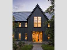 Dark gray barn home   Barn Homes   Black house exterior