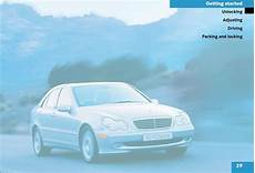 automotive service manuals 2003 mercedes benz s class parental controls mercedes benz c class 2003 owner s manual pdf online download