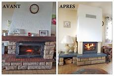 renovation cheminee avant apres transformez un foyer ouvert en foyer ferm 233