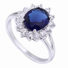 luxury british kate princess diana william engagement ring with plate crystal wedding rings for