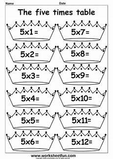 arab unity school grade 1 c blog maths multiply by 5 worksheets