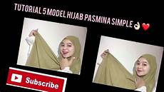 Tutorial Pasmina Simple Ala Ala Divaarieyani