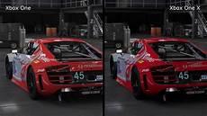 forza 7 xbox one forza 7 xbox one vs xbox one x graphics comparison