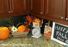 Fall Decorating Ideas For Kitchen by Anyone Can Decorate Happy Fall Y All Kitchen Pumpkin Decor