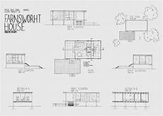 farnsworth house plan j sern s design communication redesigning farnsworth house