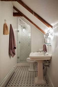 Attic Ensuite Bathroom Ideas by If These Walls Could Talk An Early American Cape Loft