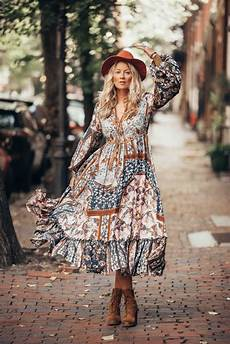 boho chic the ultimate boho chic autumn style with this fab maxi dress by outdazl