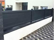 panneau alu cloture cl 244 ture aluminium et portails ext 233 rieur cloture