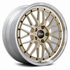 Bbs 174 Lm Wheels Gold With Dia Cut And Clear Coat Rims