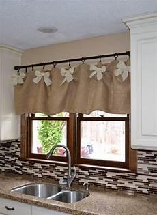 Kitchen Curtains Diy by Easy Affordable Diy Kitchen Window Valances Kitchen