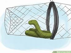 trouver un cing how to trap a snake 14 steps with pictures wikihow