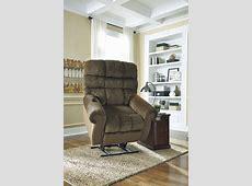 Ashley Furniture Ernestine Truffle Power Lift Recliner