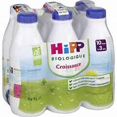 lait de croissance bio 6 x 1 l d 232 s 10 mois sur allob 233 b 233
