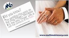 why wedding ring goes the ring finger multimatrimony matrimony blog