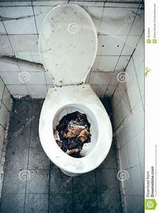 Disgusting Toilet Stock Image Image Of Abandoned Cobweb