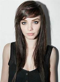 Medium Hairstyles With Side Fringe