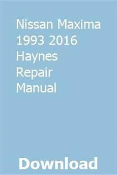 small engine maintenance and repair 1993 mercedes benz 300se navigation system download nissan maxima 1993 2016 haynes repair manual mercedes benz trucks chilton repair