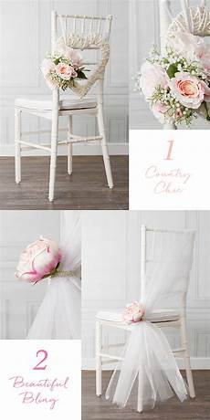 do it yourself wedding chair decorations 8 beautiful diy wedding chair decorations