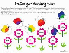 secondary colors worksheets 12813 secondary colors worksheet education
