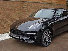 2017 used porsche macan turbo performance pa jet black
