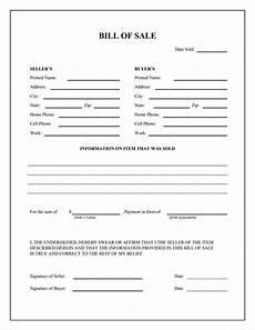 general bill of sale form free download create edit