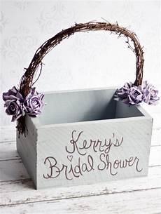 bridal shower card box rustic wedding shabby chic decor