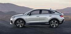 audi q3 coupe 2020 2020 audi q3 sportback new suv coupe joins q lineup