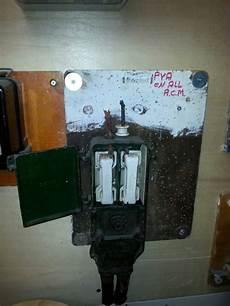 Fuse Box With Asbestos Flash Guard 1920 S Exhibit In