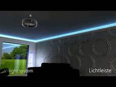 Indirekte Beleuchtung Led - led lichtleiste direkte und indirekte beleuchtung