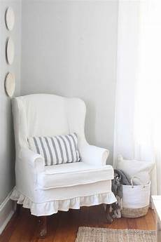 how to sew a slipcover for a wingback chair farmhouse boone