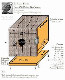 barn owl house plans newly designed barn owl nesting box owl nesting owl