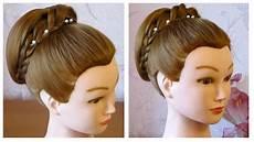 coiffure simple pour les fetes chignon facile a faire soi