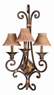 minka metropolitan golden bronze 3 light candle style wall sconce from the zaragoza collection
