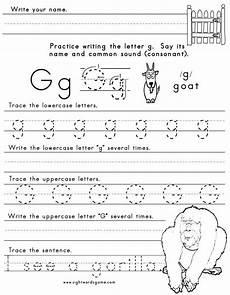 worksheets letter g 22997 letter g worksheet 1 letters of the alphabet lettering and school worksheets