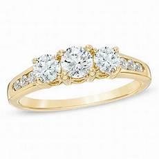1 00 ct t w diamond three stone past present future