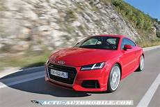 Essai Nouvelle Audi Tt 2 0 Tfsi Quattro S Line