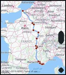 distance toulon driving distance from calais to bormes les mimosas